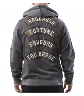 Headrush Zip Up Hoody The Cost Grey