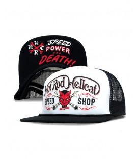 Hotrod Hellcat Trucker Cap Devil