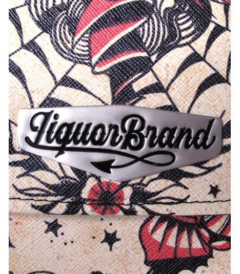 Liquor Brand Tasche Bamboo Bag Gypsy Queen