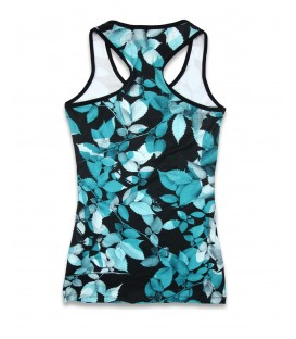 Liquor Brand Damen Tank Leaves