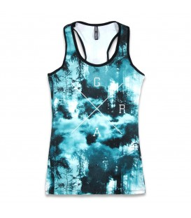 Liquor Brand Damen Tank Forest