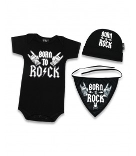Liquor Brand Baby Geschenkbox Born to Rock