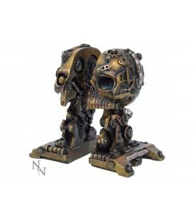 Nemesis Now Buchstütze Steampunk Cranial