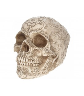 Nemesis Now Figur Floral Skull
