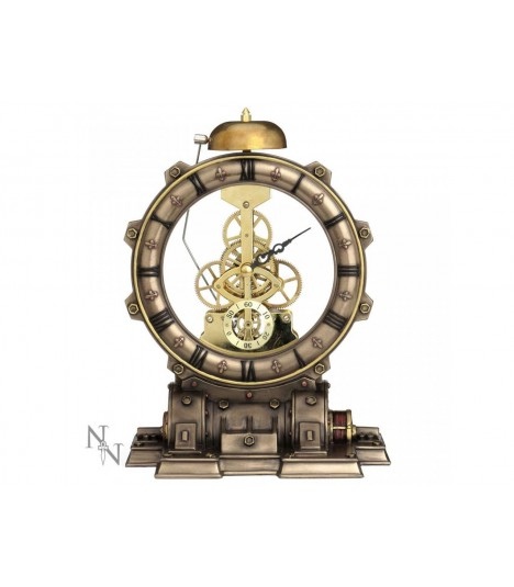 Nemesis Now Steampunk Tischuhr Time Machine