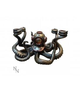 Nemesis Now Kerzenhalter Steampunk Ocean's Secrets