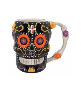 Nemesis Now Tasse Los Coffee De Los Muertos