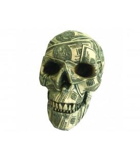 Nemesis Now Figur Made of Money Skull