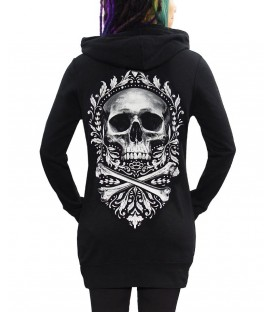 Skygraphx Hoody Dress Flourish Death