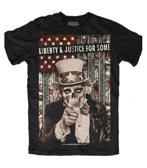 Skygraphx Shirt Liberty and Justice