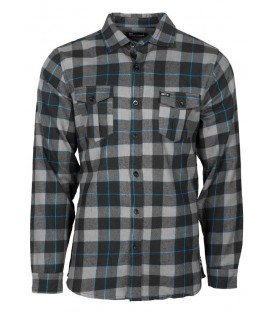 Unit Flannel Hemd Brunswick Blue