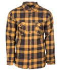 Unit Flannel Hemd Brunswick Yellow