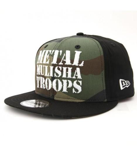 Metal Mulisha Snapback Cap Troops New Era