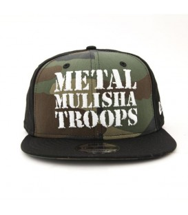 Metal Mulisha Snapback Cap Troops New Era