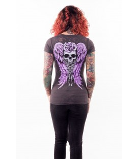 Lethal Angel Shirt Corset Winged