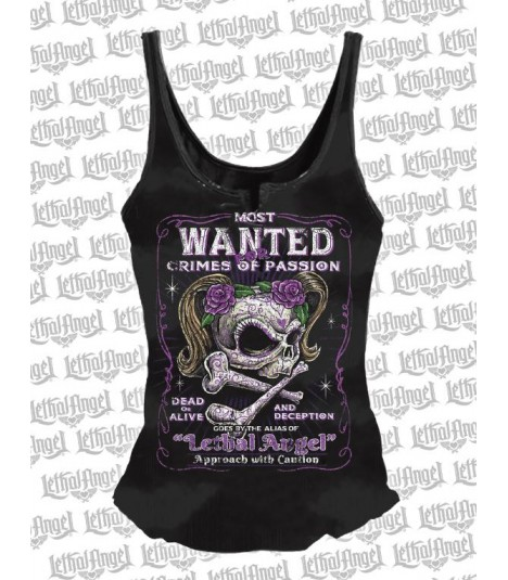 Lethal Angel Tank Most Wanted