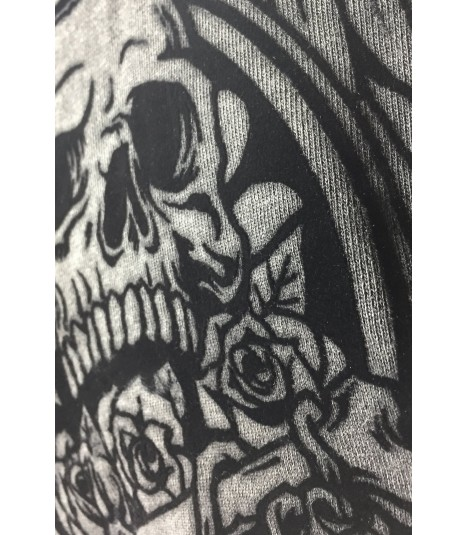 Lethal Angel Zip Hoody Skull N' Crossbones Vintage