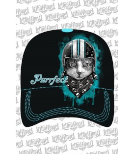 Lethal Angel Damen Snapback Cap Purfect Cat