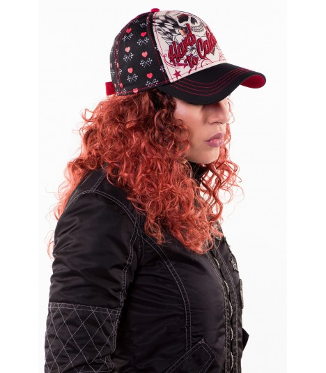 Lethal Angel Damen Snapback Cap Hard To Catch