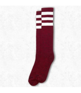 American Socks Red Noise Knee High