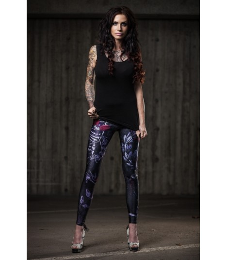 Cuts and Stitches Leggings Heartbeat