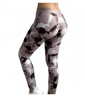 4AmazINK Leggings Camo Green