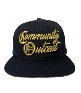 4AmazINK People Snapback Cap Community Outcast