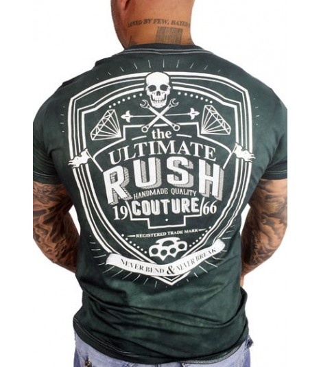 Rush Couture Shirt Never Bend Grün