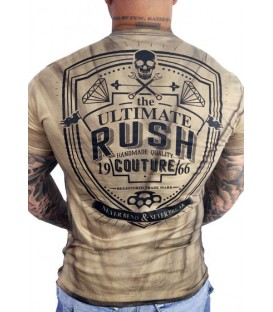 Rush Couture Shirt Never Bend Brown