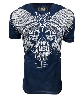 Rush Couture Shirt Native Blue