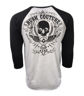 Rush Couture Raglan Lucky Ace White