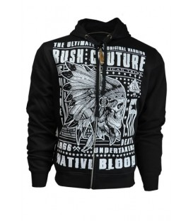Rush Couture Zip Hoody Indian Rebel