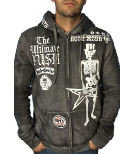 Rush Couture Zip Hoody Rock Till Death