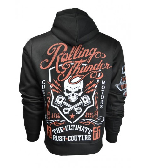 Rush Couture Zip Hoody Rolling Thunder