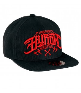 Hyraw Snapback Cap Hostile Red