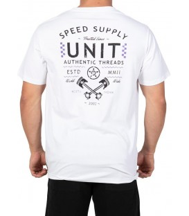 Unit Shirt Finishline Weiss