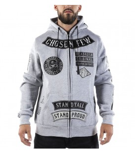 Headrush Zip Hoody The Breathe Grey