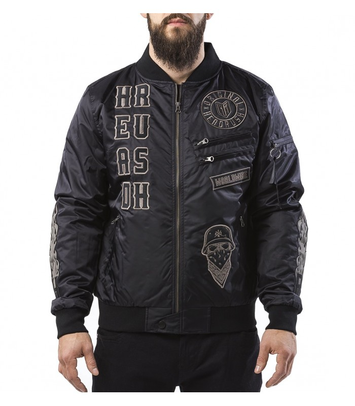 check out bac7a fa6af Headrush Bomber Jacke The Small Word