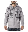 Headrush Zip Hoody The Medium Rare Grey