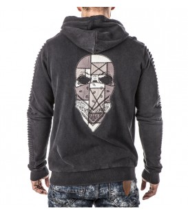 Headrush Zip Hoody The Officer Under Siege Biker