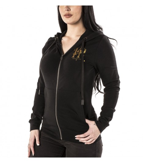 Headrush Zip Hoody The Ryder Dare Black