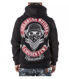 Headrush Zip Hoody The Medium Rare Black