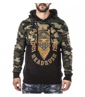 Headrush Hoody The Blood On The Boarder Cut