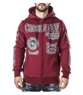 Headrush Zip Hoody The Medium Rare Burgundy