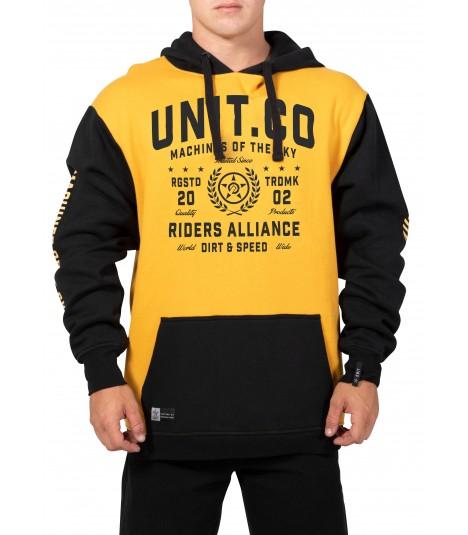 Unit Hoody Cluster Mustard