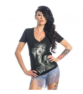 Sullen Shirt Chicana