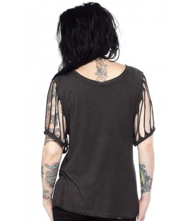 Sullen Top Native Skull Black