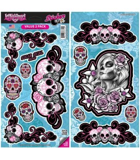 Lethal Angel Stickerset Sugarskull 13 Sticker