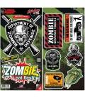 Lethal Angel Sticker Set Zombie 9 Sticker