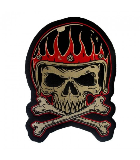 Lethal Angel Patch Vintage Helmet